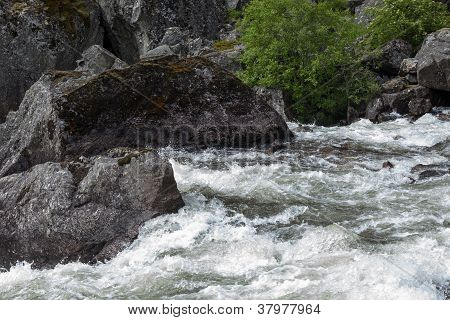 Rivers And Waterfalls In Norway