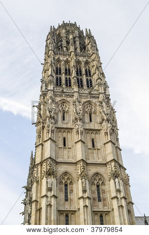 Rouen - Belfry Of The Cathedral