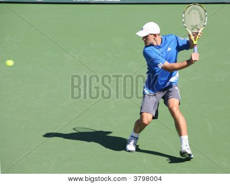 Michail Youzhny At Pacific Life Open