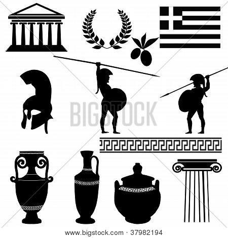 Traditional Symbols Of Greece