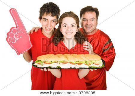 Sports And Sub Sandwich