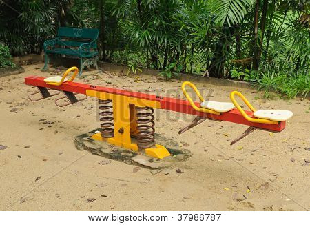 Rocking Horse Playground For Children