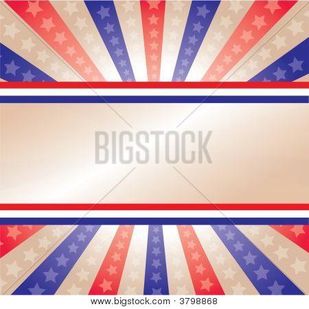 Bandera de estrellas y rayas