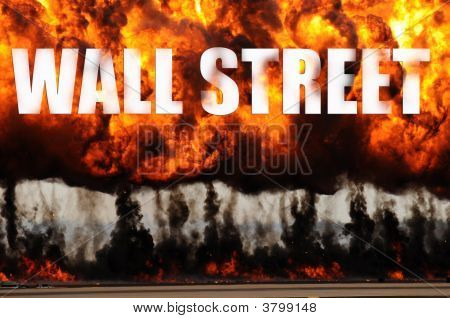 Wall Street In Flames