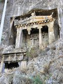 Lycian rock tombs from Telmessos