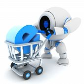 Robot And Cart E-shop