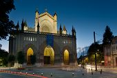 stock photo of basque country  - Cathedral of Vitoria Alava Basque Country Spain - JPG