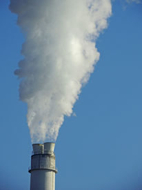 picture of gases  - exhaust fumes emitting - JPG