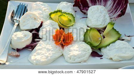 Buffalo Milk Mozzarella Wedding Banquet