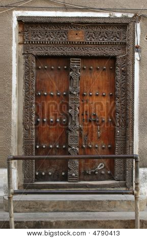 Door On The Street Of Stowntown
