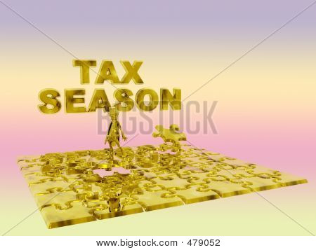 The Puzzling Tax Season.