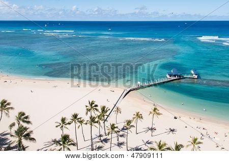Famous Waikiki Beach