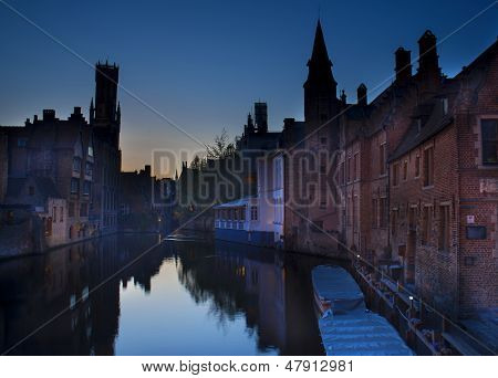 Canals in Brugge