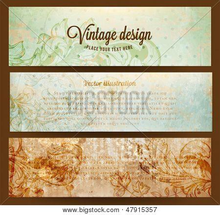 Fondo Vintage. Textura de papel