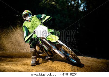 Enduro Bike Rider