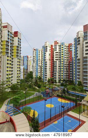 Colorful Neighborhood Estate