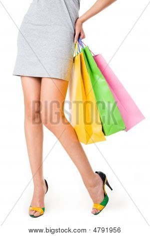 Legs Of Shopper