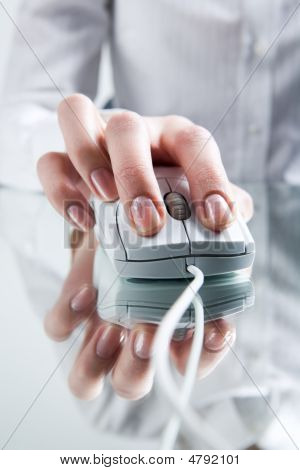 Pressing Mouse Button