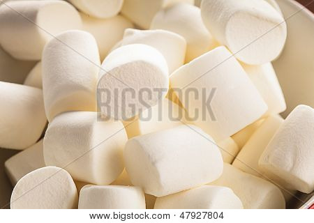 Fundo de marshmallows