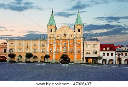 Zilina City - Slovakia, Marianske Square