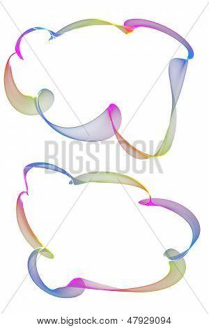 Abstract Ribbon Frames