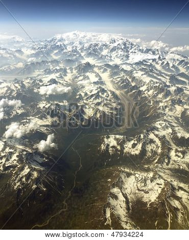 Mt Mckinley From The Air