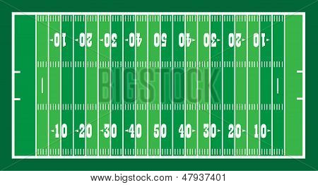 Field For American Footbal