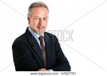 Retrato de empresario maduro