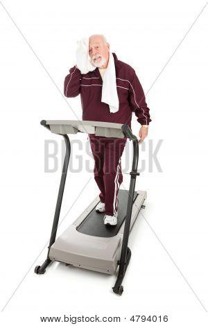 Anstrengenden Senior Workout