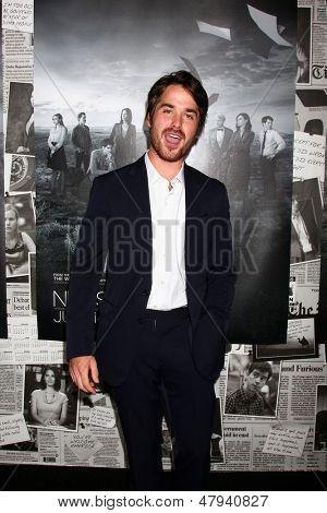 LOS ANGELES - JUL 10:  Thomas Matthews arrives at the HBO series
