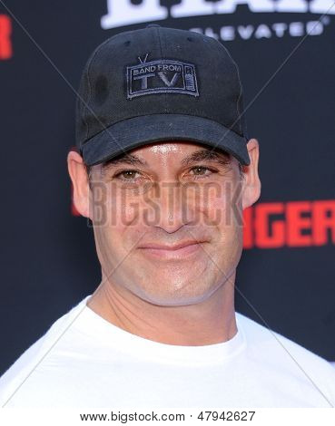 LOS ANGELES - JUN 22:  Adrian Pasdar arrives to the 'The Lone Ranger' Hollywood Premiere  on June 22, 2013 in Hollywood, CA