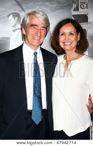 LOS ANGELES - JUL 10:  Sam Waterston arrives at the HBO series