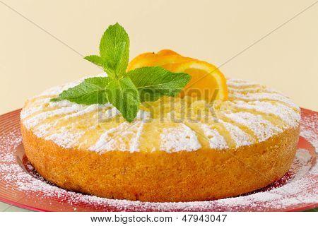 Home Made Whole Testy Orange Cake