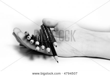 Pencils On Hand