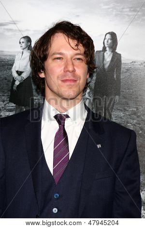 LOS ANGELES - JUL 10:  John Gallagher Jr. arrives at the HBO series