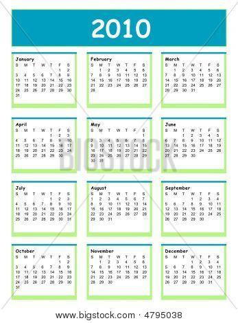 2010 Calendar Full Year
