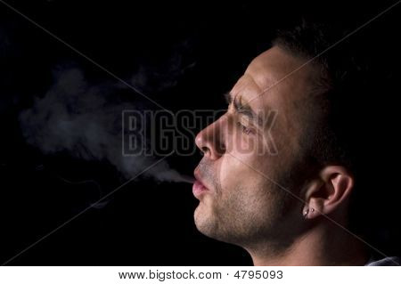 The Smoker Is Smoking