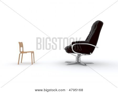 Armchair And Chair