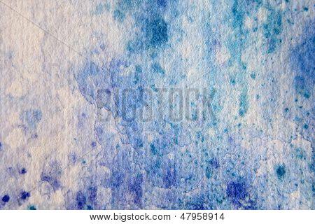 Blue Watercolour Textures 5