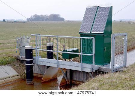 Drainage Pumping Station.