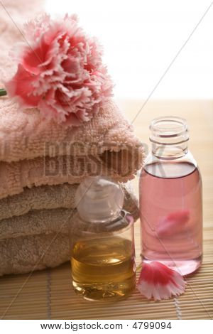 Spa And Body Care Background