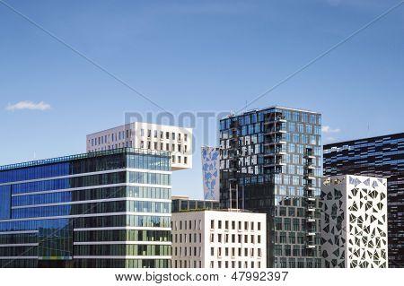 Moderne Gebäude In Oslo, Norwegen