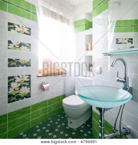 Neues Design der WC-Raum