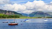 picture of bute  - Port Bannatyne on the Isle of Bute Scotland UK - JPG