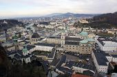 Historic City Center Of Salzburg poster