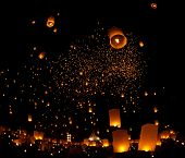 Loy Krathong and Yi Peng Festival