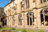 pic of reign  - The cloister of Trier Cathedral or Dom St - JPG
