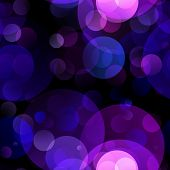 picture of diffusion  - Beautiful defocused blue and purple abstract holiday background - JPG