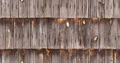 image of shingle  - seamless weathered roof shingle texture background - JPG
