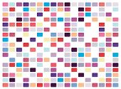 foto of pop art  - Vector retro pop art mosaic on white background - JPG